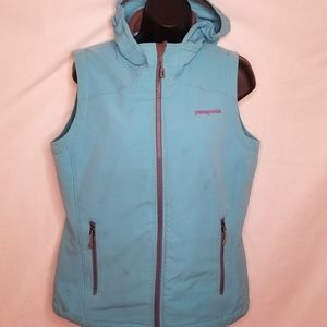 Patagonia vest with hood